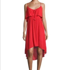 Ella Moss Red High Low Dress.